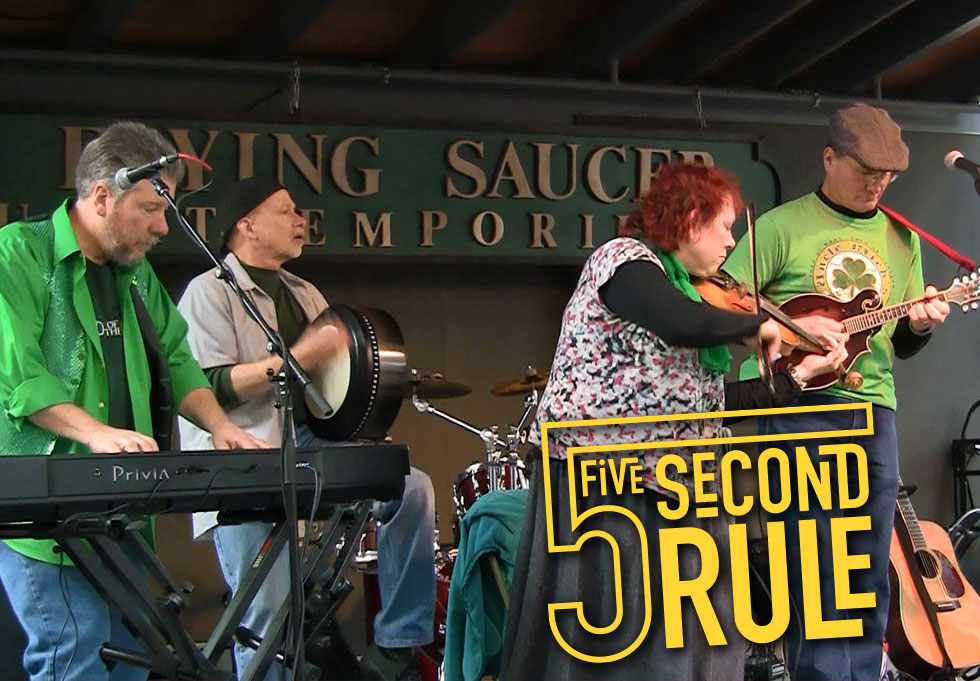 5 Second Rule - Irish Music